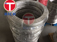 Sanitary Food Capillary WT2mm OD10mm Stainless Steel Coil Tube